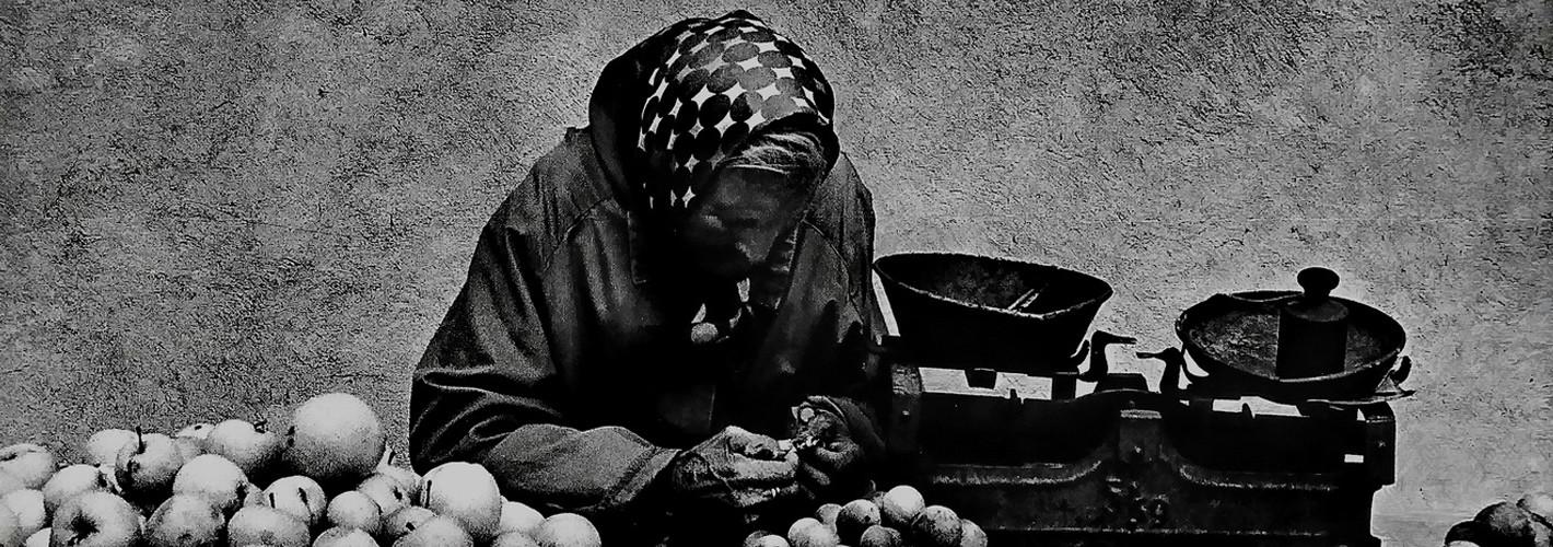 Portret czarno-biały tradycyjny