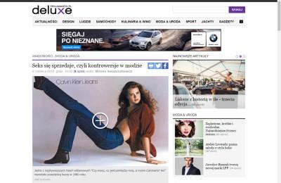 """""""Sex w reklamie"""" artykuł na trójmieście.pl"""
